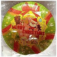 クリスマス パーティー 紙皿 ペーパー 深皿 ボウル 【サンタクロース】 (5枚入り)