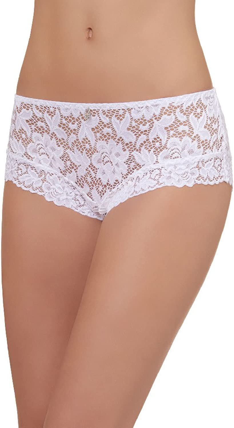 Barbara Cecilia White Shorty 70641BL001