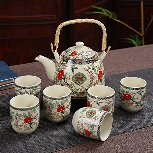 YAN Heben Ingwer Tee-Set Luxus Geschenk Teekanne Tasse Kung Fu Tee-Set Keramik Geschenk-Set,EIN