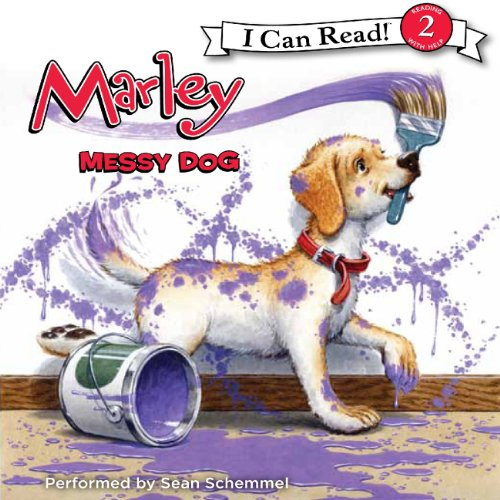 Marley: Messy Dog audiobook cover art