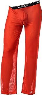 Manview Men's Pyjama Bottoms red red Medium