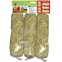 Best Value Barley Straw Bales - 3 for price of 2 hese bales are designed to float on the surface of your pond. Barley straw is infused with lavender for increased effectiveness
