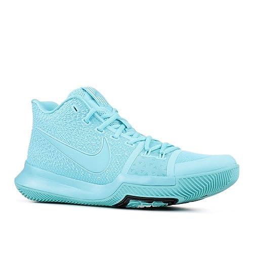 sports shoes c7b1e 60b9c Nike Men s Kyrie 3 Basketball Sneakers Aqua Black Size 11 D ...