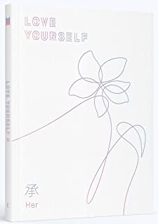 BTS - Love Yourself 承 [Her] [E ver.] with Photobook, Photocard, Official Folded Poster(E ver.), Extra photocard