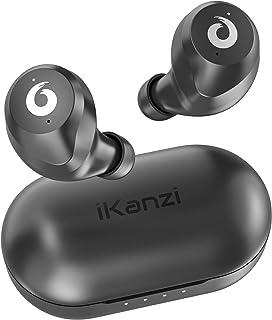 【超ミニ型 Bluetooth イヤホン】 ワイヤレスイヤホン Bluetooth 5.0 ブルートゥース イヤホン Hi-Fi 完全ワイヤレス イヤホン 自動ペアリング IPX6防水レベル【Siri対応/AAC対応/左右分離型/軽量】 (iP...