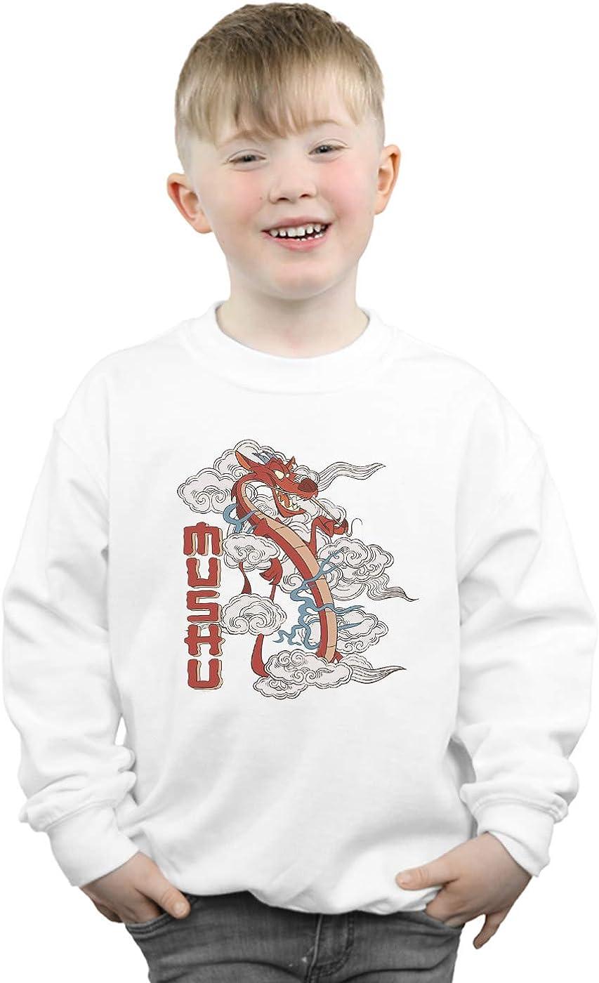 Disney Ni/ños Mulan Mushu Dragon Camisa De Entrenamiento