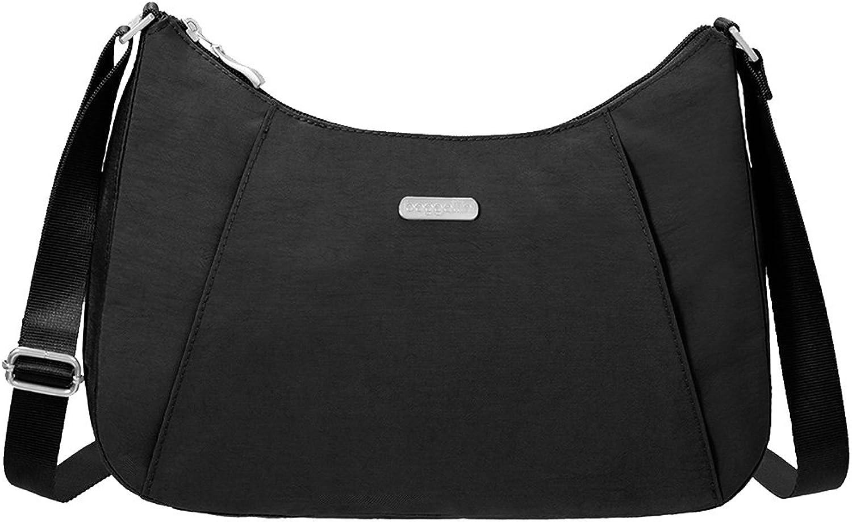 Baggalini Slim Hobo Handbag RFID Wristlet Key Chain Purse Light Bundle