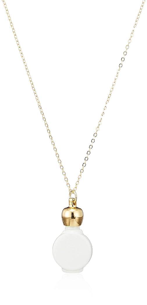 部ブラシマティスヒロセアトマイザー 1cc アロマペンダント密閉栓タイプ 12080P ホワイト (ゴールド タイコ ホワイト)