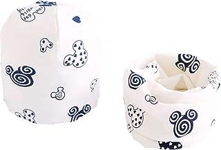 Spring Autumn Baby Girls hat scarf set Cartoon Owl Stars Swan baby hat Children Hat Scarf-Collar set Cotton Baby Hat Set