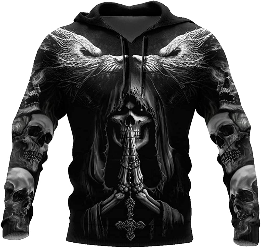 Norse Myth Fenrir Wolf Hoodie 3D Print Harajuku Style Casual Loose Unisex Casual Pullover Sweater Vikings Autumn Jacket