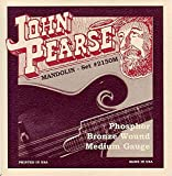 John Pearse JP2150M Phosphor Bronze Mandolin Strings, Medium