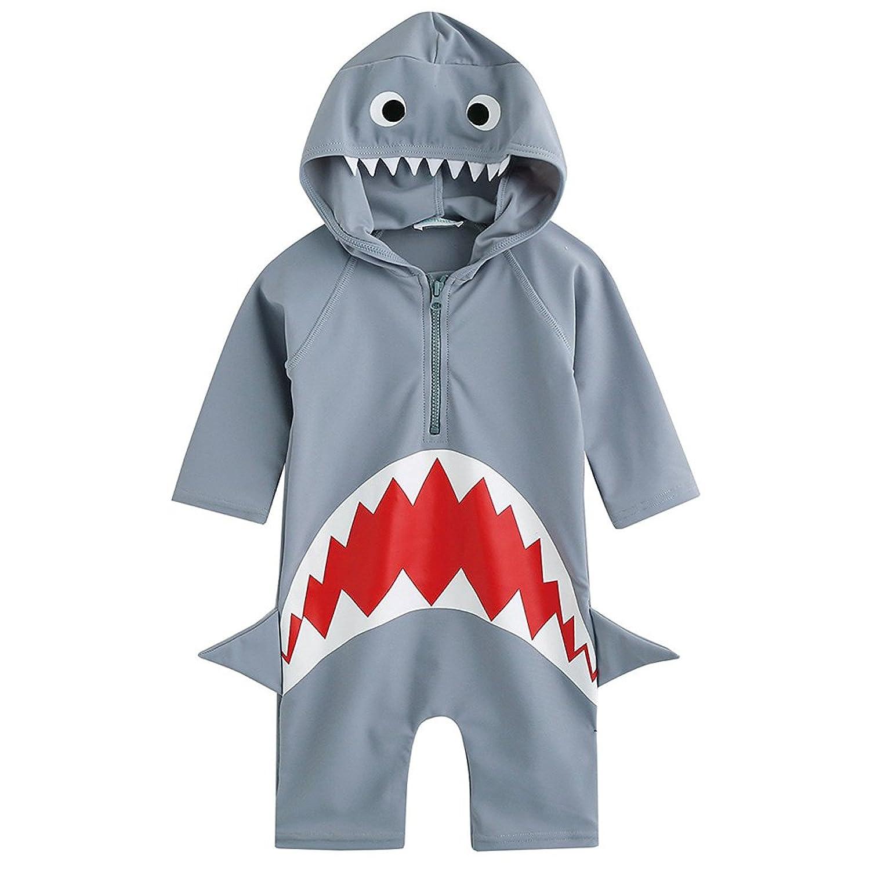 2-6歳 UVカット ラッシュガード ベービー 子供 男の子 女の子 長袖 水着 水泳 スイムウェア かっこいい UPF50+ 紫外線カット
