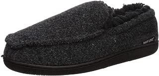 Men's Faux Wool Moccasin Slippers
