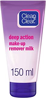 CLEAN & CLEAR, Make-up Remover, Deep Cleansing, 150ml