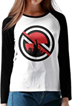 Raglan Women's Baseball Jersey Shirt Prophets Of Rage The Party's Over