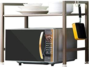 HSF Microondas Horno de Carro 1 Doble Doble Capa Estante de la Cocina Horno Plataforma de Suelo Libre ponche Almacenamiento Hogar Rejilla de Horno