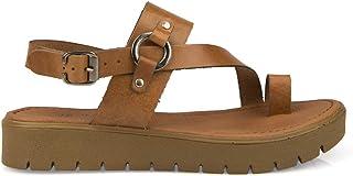 Uniquer, Kadın Hakiki Deri Sandalet 101354U 311