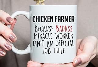 Gift for Chicken Farmer Chicken Farmer Mug Best Chicken Farmer Ever Chicken Farmer