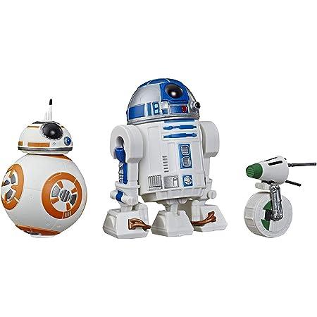 """『スター・ウォーズ / スカイウォーカーの夜明け』 R2-D2, BB-8, D-O 5インチ アクションフィギュア 3パック ギャラクシー オブ アドベンチャー Star Wars: The Rise of Skywalker E3118 Galaxy of Adventures R2-D2, BB-8, D-O Action Figure 3 Pack, 5"""" Scale Droid Toys with Fun Action Features 最新 映画 EP9 エピソード9 [並行輸入品]"""