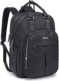 Diaper Bag Backpack, Dikaslon Large Travel Back Pack Waterproof Multifunction Maternity Baby Nappy Changing Bags for Mom and Dad with Insulated Pockets, Changing Pad for Boys and Girls, Black