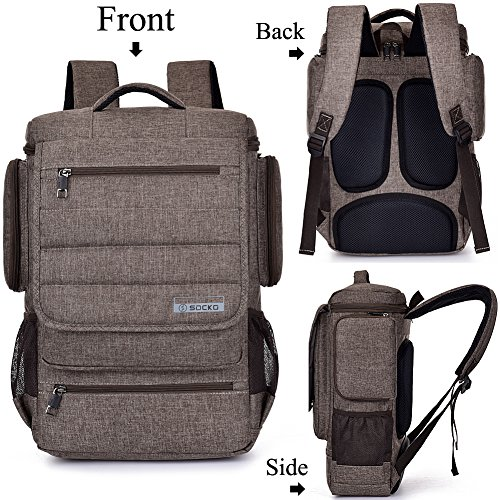 Laptop-Backpack-with-Back-Support