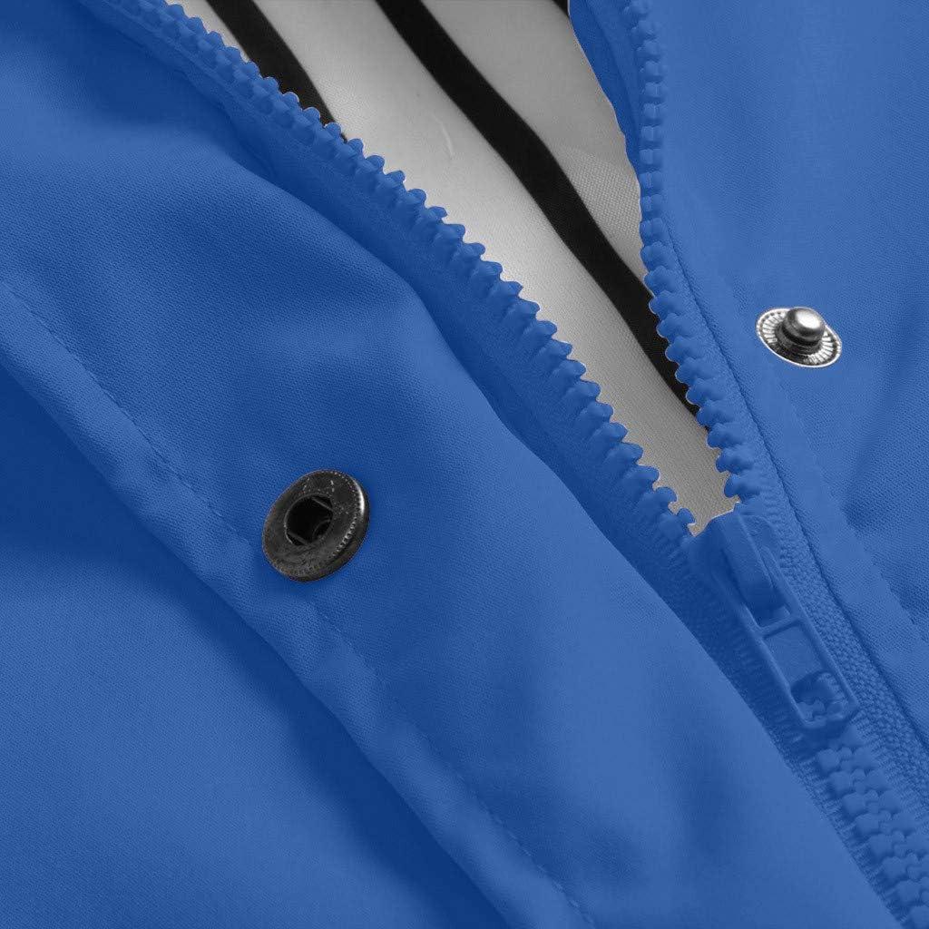 TOPKUAL Damen Hoodie Jacke Winter Sweatshirtjacke mit Kaputzen Übergangsjacke-Freizeitjacken Thermo Reißverschluss Kapuze Warmer Mantel #01-himmelblau