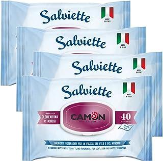 Ulisse Quality Shop Camon - Toallitas limpiadoras de Mirra y