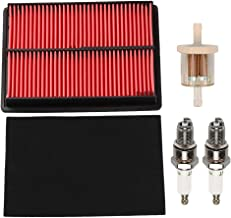 Fuel Li GX670 Air Filter Tune Up Service kit for Honda GX670 GX620 GX610U1 GX620K1 GX620U1 GX670U GX610 GXV610 GXV620 GXV670 V-Twin Engine