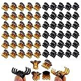 VEGCOO 60 Piezas Mini Clips de Pelo, Horquillas Plásticas Garras de Pelo Accesorios de Cabello para Mujere Niña