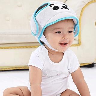 protecci/ón para la cabeza del beb/é color gris protecci/ón para la cabeza anticolisi/ón Casco de seguridad para beb/é YeahiBaby