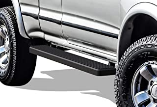 APS iBoard (Black Powder Coated 6 inches) Running Boards Nerf Bars Side Steps Step Rails Compatible with 1995-2004 Toyota Tacoma Extended Xtra Cab Pickup 2-Door (4WD or Prerunner 2WD 4WD)