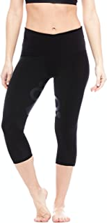 Perfect Balance World Innovator Capri: Women's Athleisure Yoga, Fitness, and Exercise Sports Leggings, Black
