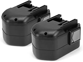 PowerGiant 14.4V 2.0Ah NiCd Replacement Battery for Milwaukee 48-11-1000 48-11-1014 48-11-1024 (2-Pack)