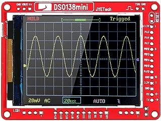 Festnight JYE Tech DSO138 Mini Digital Oscilloscope DIY Kit SMD Parts Pre-soldered Electronic Learning Set 1MSa/s 0-200KHz