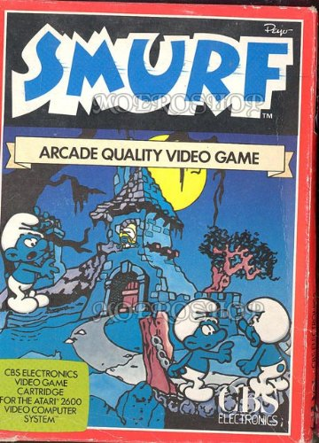 Smurf arcade quality video game - Atari 2600 - PAL