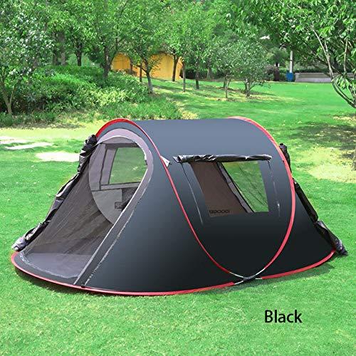 ZFLL tent voor buiten, 3-4 personen, volledig automatisch, voor het opbouwen van tenten, snel voor evenementen, vissen in de open lucht, winter, wandelen en tent