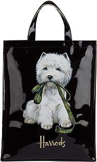Westie Puppy MediumShopper Bag - Bolso de mano de PVC con forro de poliéster - Cierre bolso con botón magnético y bolsillo interior porta móvil ID 5573463