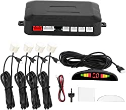 $27 » Reversing Radar Sensor, 12V Universal 4-Probe Parking Sensor Buzzer Parking Distance Control Sensor with Led Display and S...