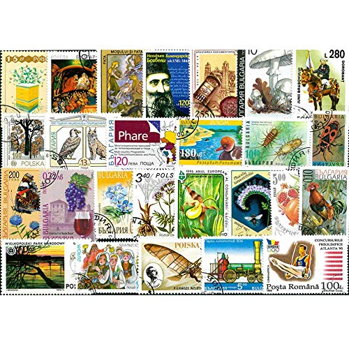 2000 PCS/Lot No Repeat European Postage Stamp Collections from Europe Post Mark Stamps Postal All Used for Collection Gifts
