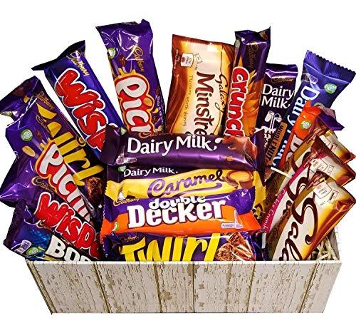 The Ultimate Chocolate Selection Hamper Box di Cadbury e Galaxy Bar standard per tutte le occasioni