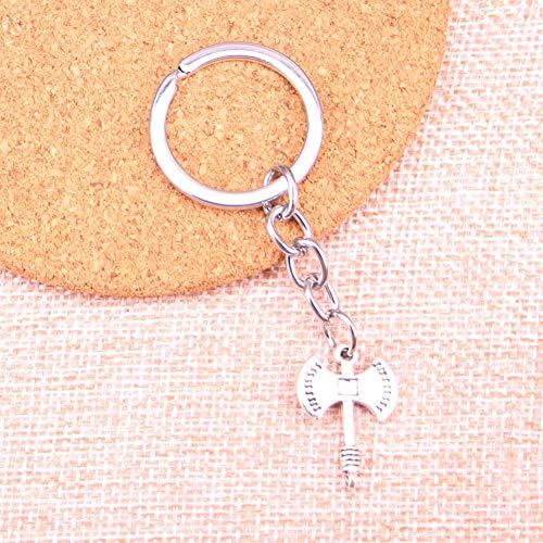 TAOZIAA bijl bedelhanger sleutelhanger sleutelhanger ketting accessoires sieraden maken voor geschenken