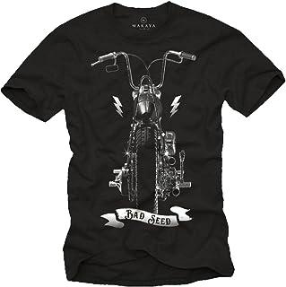 MAKAYA Bad Seed - Camiseta Chopper Hombre