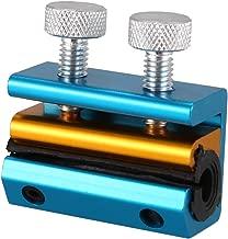 Cikuso Herramienta De Lubricante para Cables De Aluminio para Motocicleta Engrasador De Alambre Lubricacion De Cable De Reabastecimiento De Cable Linea De Freno De Moto (Azul)