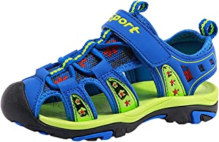 ffe0fabd09fe Tortor 1Bacha Kid Boys Girls Closed Toe Sport Athletic Water Sandal (Toddler Little  Kid