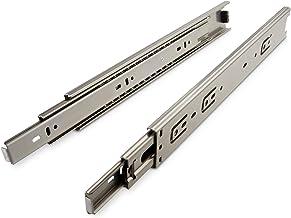 JUNKER 1 paar echt RVS volledig uittrekbare ladegeleiders KV7-45-H45-L750-NF SS304 (EN 1.4301) 750 mm max. belastbaar tot ...