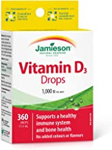Jamieson D Droplets 1,000 IU, 11.4ml