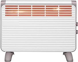 AJH Calentador de radiador de inercia seco móvil Radiador de convección eléctrico - Calefacción Auxiliar - Panel de diseño - Calefacción infrarroja eléctrica de 2000 W - Programa