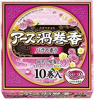 アース製薬 アース渦巻香バラの香り函入 10巻