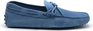 Tod's Luxury Fashion Mens MCBI38943 Light Blue Loafers | Season Outlet