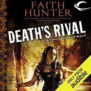 Death's Rival     Jane Yellowrock, Book 5              Written by:                                                                                                                                 Faith Hunter                               Narrated by:                                                                                                                                 Khristine Hvam                      Length: 14 hrs and 11 mins     5 ratings     Overall 4.8